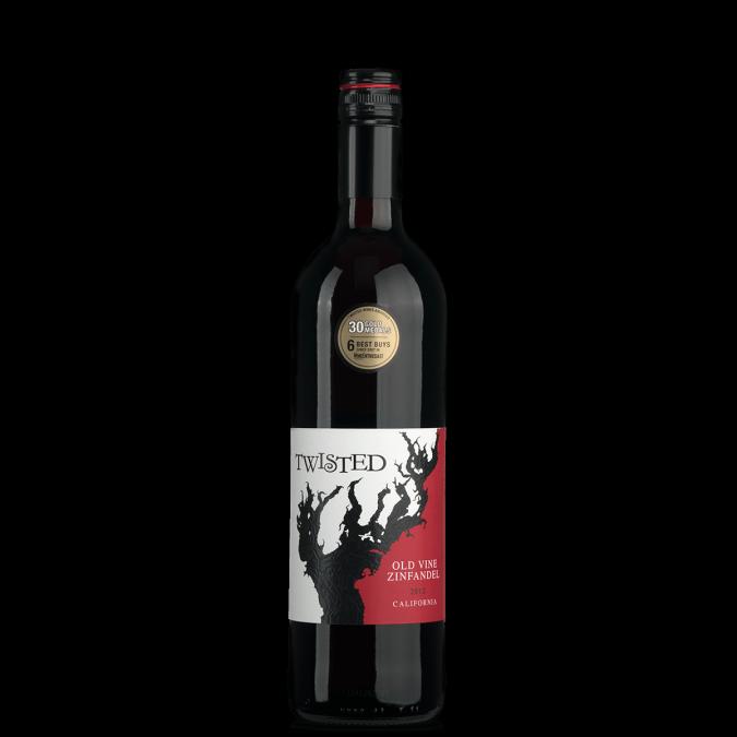 Twisted Old Vine Zinfandel 2012
