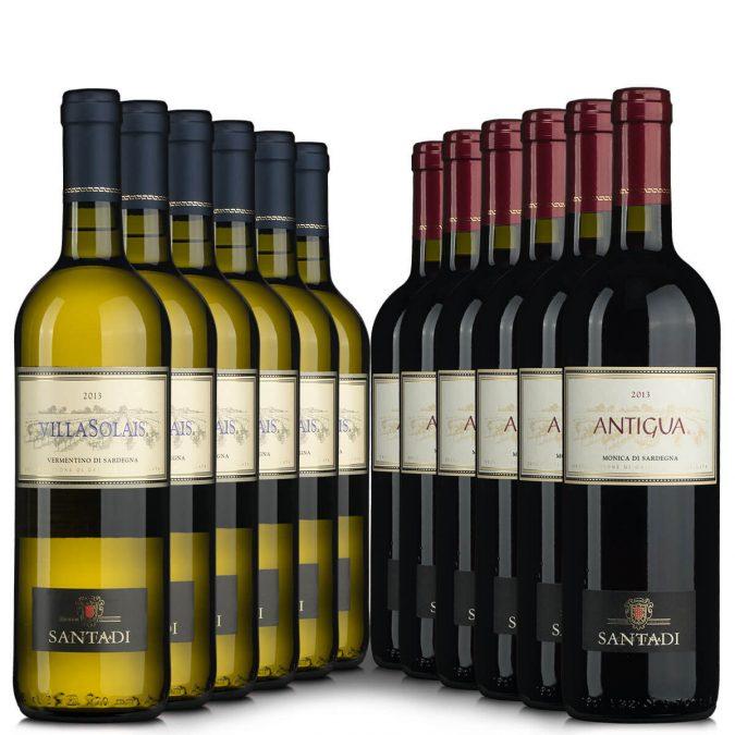 Paket 12 Santadi bei vinoakvo zum Sparpreis
