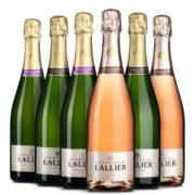 Lallier Paket Champagner bei vinoakvo