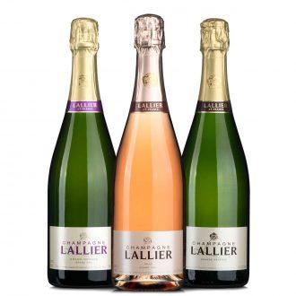 Lallier Champagner Probierset bei vinoakvo.de