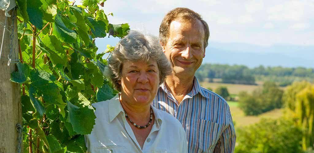 winzerpaar - Gisela und Hubert Lay