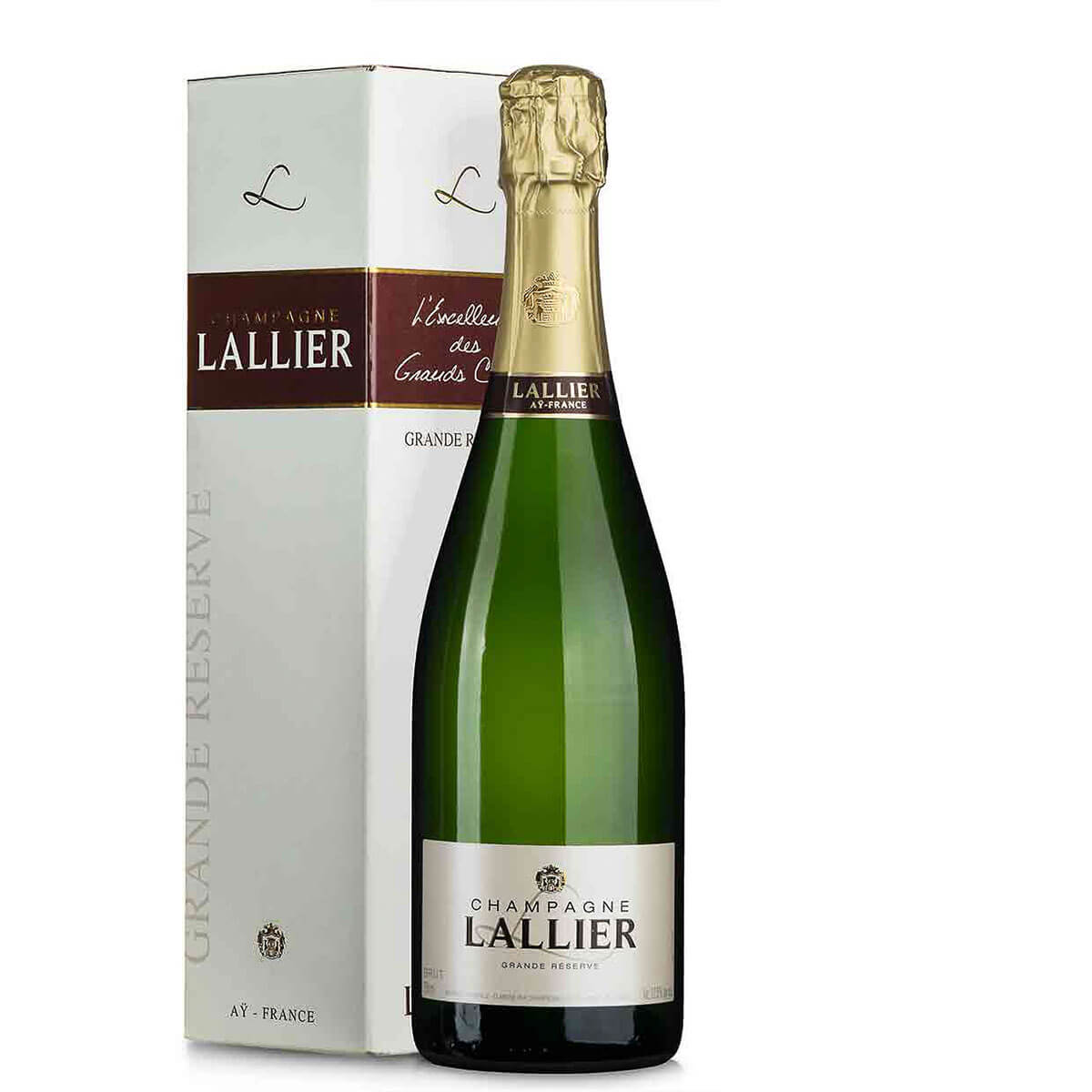 Lallier Champagner Grande Reserve Grand Cru im Geschenkkarton